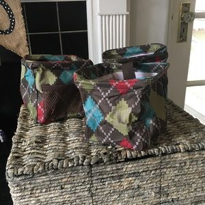 Lot of 3 Thirty One Littles Carry All Caddy